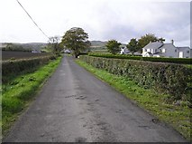 C3412 : Road at Monreagh by Kenneth  Allen