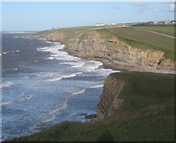 SS8872 : Overlooking Dunraven Bay by Andrew Hill