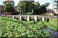 SK6514 : Packhorse bridge by Richard Croft