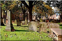 NS3321 : The Auld Kirk Yard by Mary and Angus Hogg