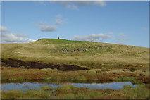 NS3160 : Lochan below Lairdside Hill by Leslie Barrie