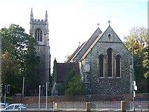 TQ7568 : St. Mary's Church, Chatham by David Anstiss