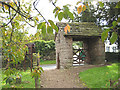 SO4910 : Lych gate, St Michael and All Angels by Pauline E