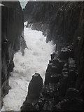 NC0326 : Tidal channel behind Split Rock at Clachtoll by Ulrich Hartmann