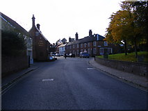 TM3877 : London Road, Halesworth by Adrian Cable