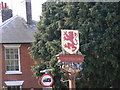 TM2547 : The Red Lion Public House Sign by Geographer