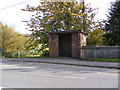 TM2547 : Bus Shelter,The Street, Martlesham by Geographer