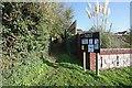 TM1897 : Pathway to Flordon Church by John Salmon