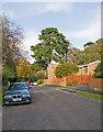 SU4117 : Pinehurst Road by Peter Facey