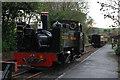 SN7376 : Last train of the season at Devil's Bridge by Nigel Brown