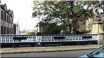 SJ9698 : Victoria Bridge by Gerald England