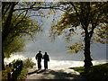 TQ2786 : Walking over Hampstead Heath by Stephen McKay
