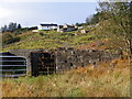 B8314 : Ruined buildings on the horizon and cattle pens in the foreground - Ardmeen Townland by Mac McCarron
