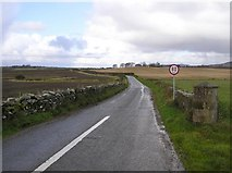 C3320 : Road at Castlecooley by Kenneth  Allen