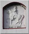 C3409 : Plaque, St Johnston Orange Hall by Kenneth  Allen