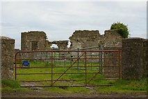 S0884 : Ruined farmhouse near Clashagad by Steve Edge