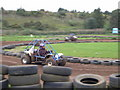 TM2447 : Rally Karts at Beacon Hill farm, Martlesham by John Goldsmith
