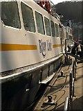 SX8751 : River Link boat, Dartmouth by Derek Harper