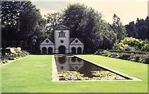 SH7972 : The Pin Mill, Bodnant Garden, National Trust by Tim Marshall