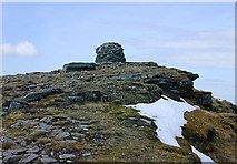 NH2071 : The summit of Sgùrr Mòr by Nigel Brown