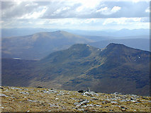 NH2071 : View southwest from Sgùrr Mòr by Nigel Brown