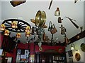 NY8545 : Antiques Bar, Allenheads Inn by Oliver Dixon