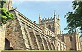 NT0887 : The Abbey Church of Dunfermline by Lairich Rig