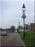 TQ3283 : Replica street lamps, Shoreditch Park by Oxyman