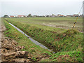 TG3532 : A drainage ditch running north by Evelyn Simak