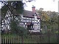 SJ4918 : Half-timbered house at Albrighton by Row17