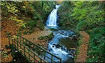 J3996 : Autumn at Glenoe (1) by Albert Bridge