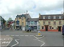 SM9537 : The Square, Fishguard / Abergwaun by Humphrey Bolton