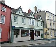 SM9537 : Lloyds TSB bank, West Street, Fishguard / Abergwaun by Humphrey Bolton