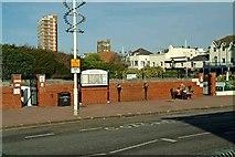 SZ9398 : Public Convenience The Esplanade Bognor Regis by P L Chadwick