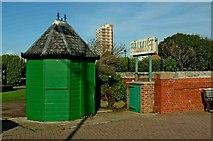 SZ9398 : Palmist Booth The Esplanade Bognor Regis by P L Chadwick