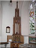 TQ2565 : All Saints church Benhilton - Walsingham shrine by Stephen Craven