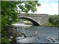 SM9637 : The bridge over the Afon Gwaun, Fishguard / Abergwaun by Humphrey Bolton