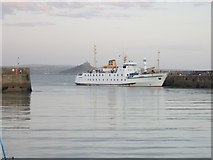 SW4730 : The Scillonian entering Penzance Harbour by Paul Hutchinson