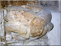SY7699 : Corbel, St Martin's Church, Cheselbourne by Maigheach-gheal