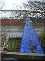 NZ2163 : Footbridge over Scotswood Road by Oliver Dixon