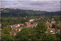 TQ2550 : Looking north from St Mary's Church, Reigate by Ian Capper