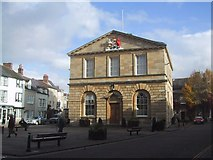 SP4416 : Town Hall, Woodstock by Sarah Charlesworth