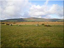 SN1329 : Gors Fawr stone circle by Richard Law