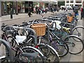 TL4558 : Cycle racks outside M&S by Given Up