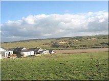 SH3568 : Bungalows at the southern outskirts of Aberffraw by Eric Jones