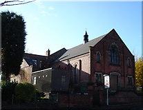 SK5845 : Cross Street Baptist Church, Arnold by Oxymoron
