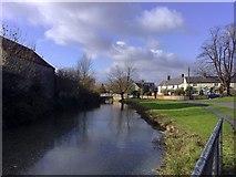 SP7433 : Village Pond, Thornborough by mick finn