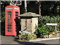 NZ0863 : Old water fountain, West Road, Ovingham by Mike Quinn