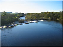 NY9170 : River North Tyne from Chollerford Bridge by Les Hull