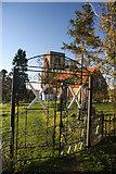 TL9919 : Entrance to Abberton churchyard by Bob Jones